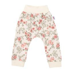 Spodnie dresowe dla niemowląt RW_teplacky-flawers-nbyo331