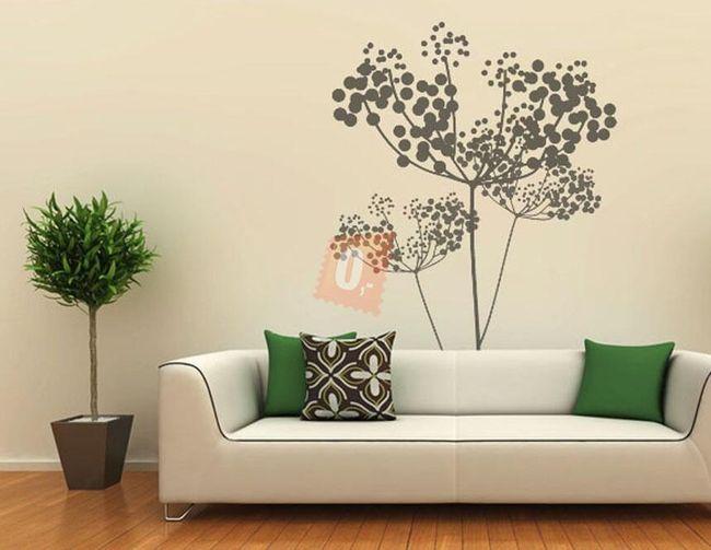 Samolepka na zeď - umělecký strom 1