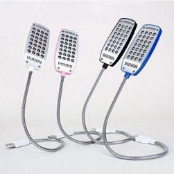USB LED flexibilní svítilna - 4 barevná provedení