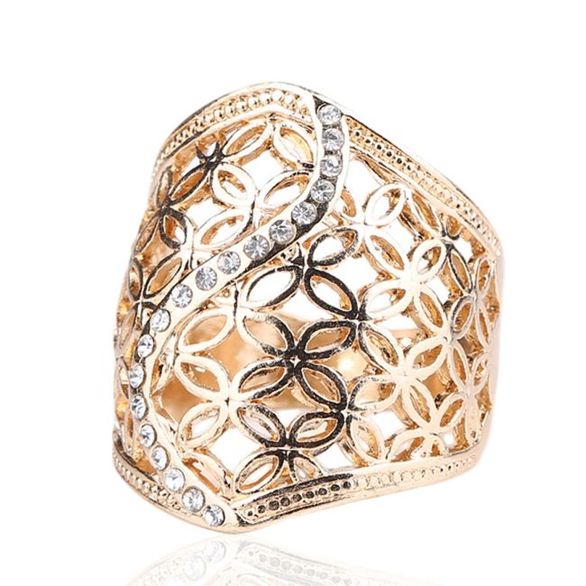 Ženski prstan - 2 barvi 1