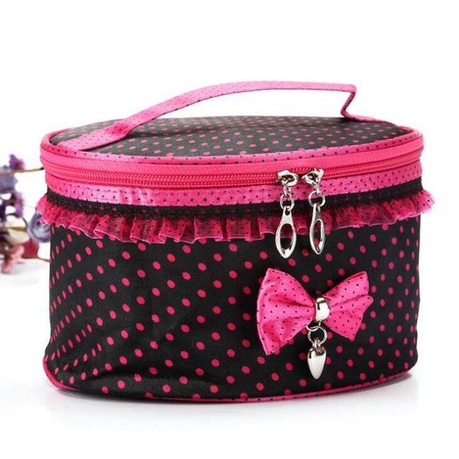 Kosmetická taška - růžová 1