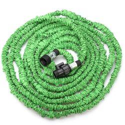 Furtun flexibil pentru grădină - verde