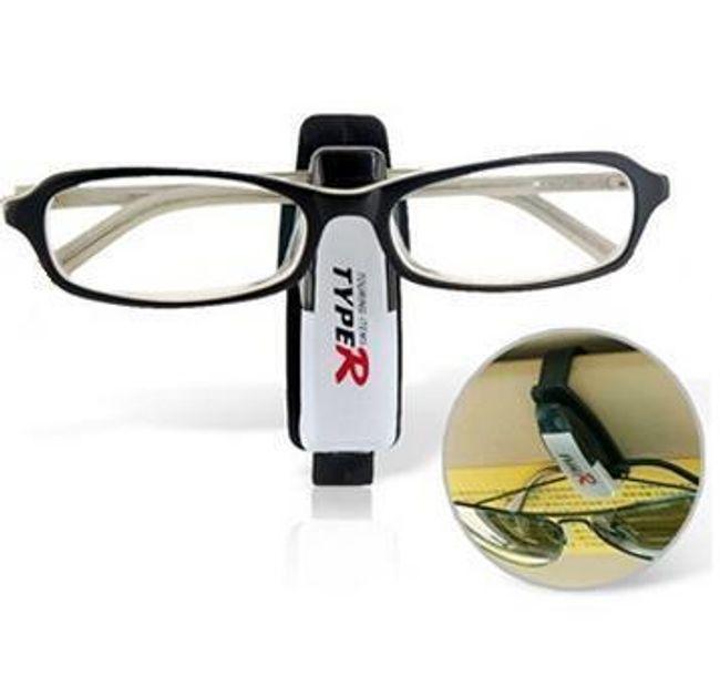 Držák na brýle s praktickým klipem - autodoplněk 1