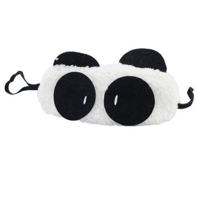 Maska do spania - panda 1