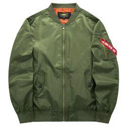 Мъжки бомбър - повече цветове Зелено - размер 3