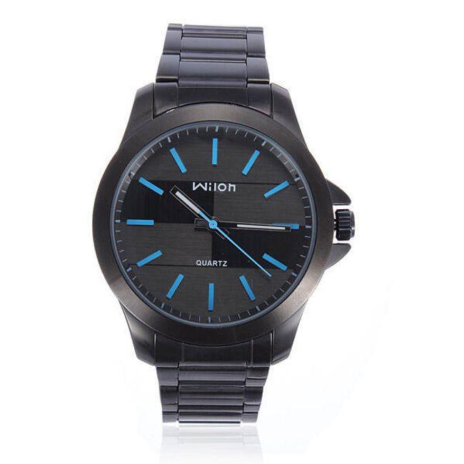 Pánské hodinky v modro-černé barvě 1