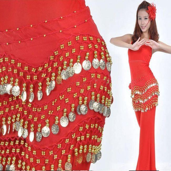 pret de fabrica cele mai recente vânzare cu reduceri Șal pentru belly dance - 11 culori | ShipGratis.ro