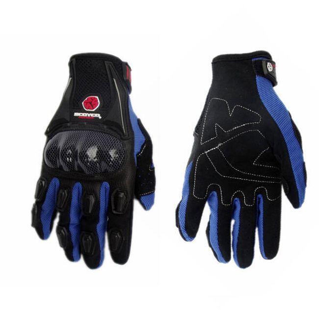 Motocyklistické rukavice - protiskluzové  1