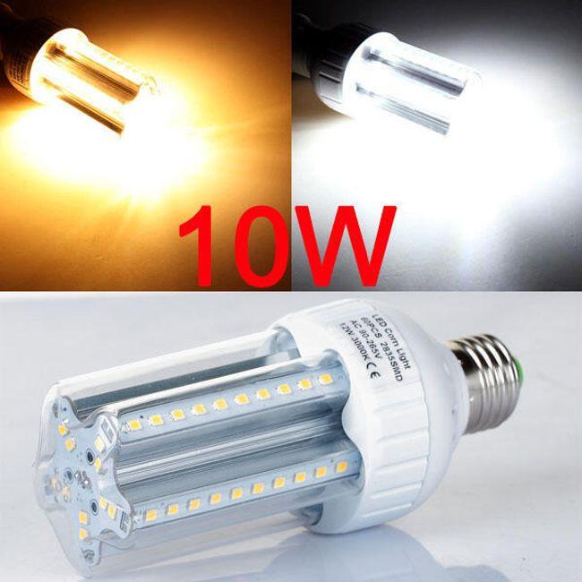 10 W-os LED-izzó 60 LED-del (E27 aljzat) 1