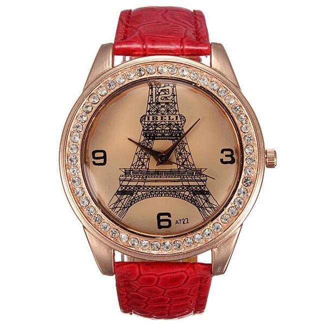 Damski zegarek z wieżą Eiffla 1
