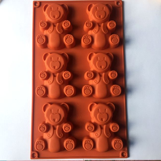 Silikonska forma - medvedići 1