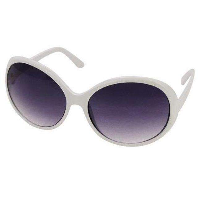 Dámské sluneční brýle - na výběr černá nebo bílá 1