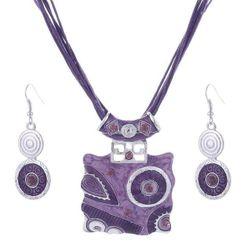 Set ženskog nakita - 4 boje