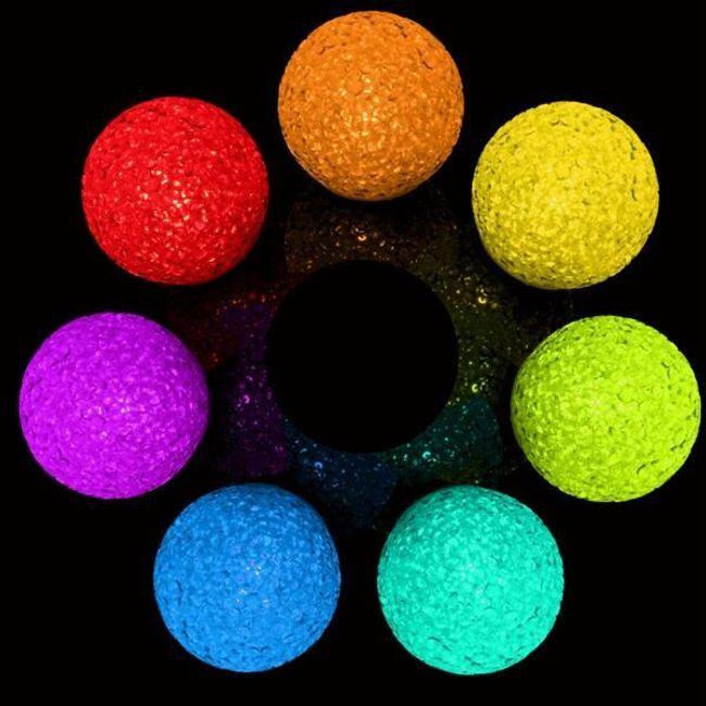 LED krogla, ki spreminja barve 1