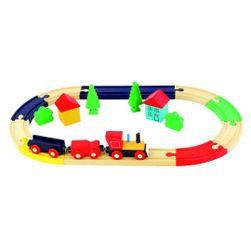 Vasúti pálya ovális