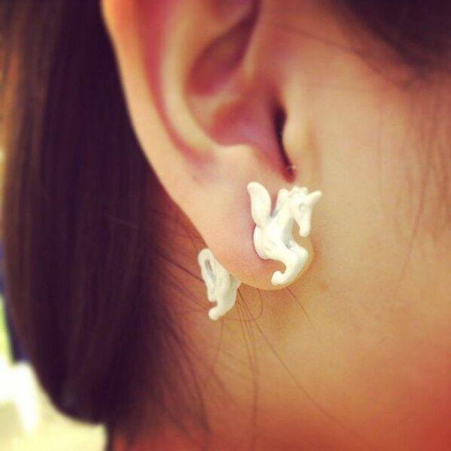 Egyszarvú fülbevaló 1