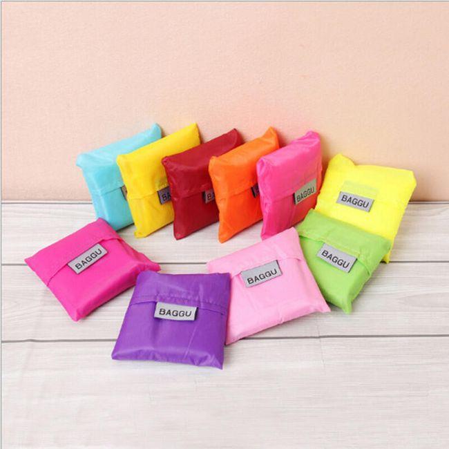 Складная сумка для покупок - много цветов 1