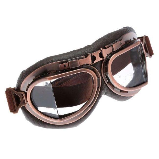 Retro očala za kolesarje - 5 različic očala za zatemnitev 1