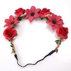 Piękny wieniec z kwiatów - 8 wariantów