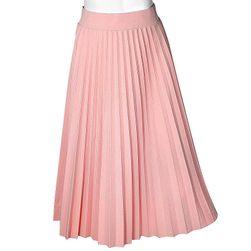 Damska spódnica z elastyczną talią w różnych kolorach - 10 kolorów