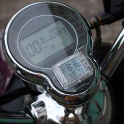 Voděodolné digitální hodiny na motorku Alconstar