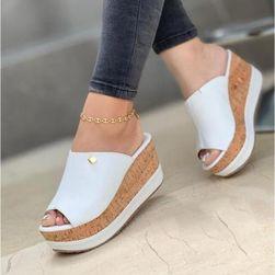 Дамски обувки на клин ток Elisa