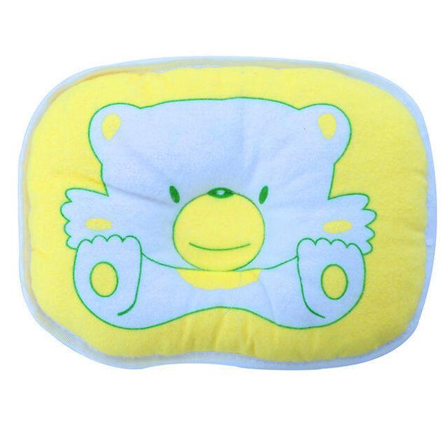 Dětský sedák na židli s medvídkem - Žlutá 1