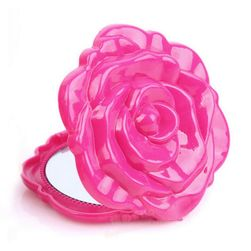 Lusterko kieszonkowe - róża