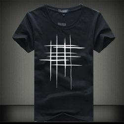 Тениска за мъже със стилен печат