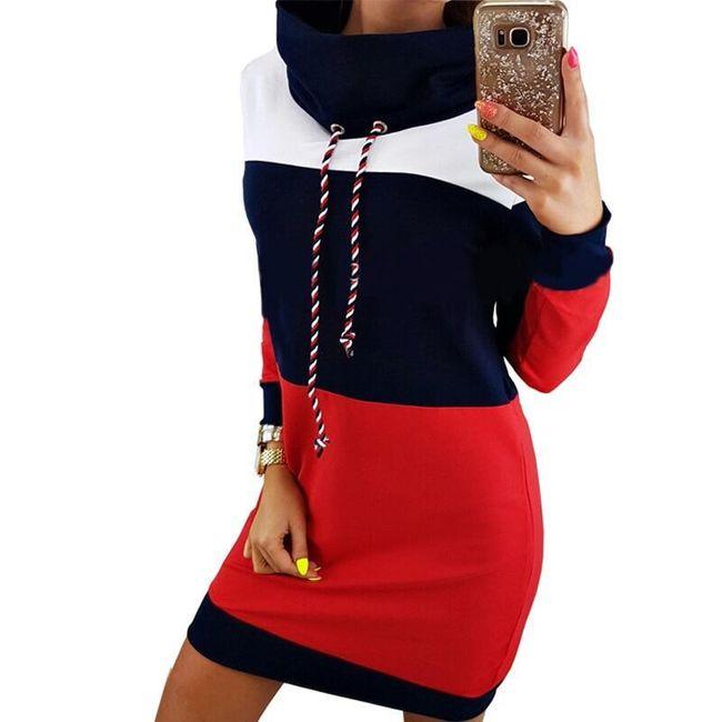 Dámské mikinové šaty Sofinna 1