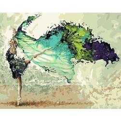 DIY kép számok alapján - táncos