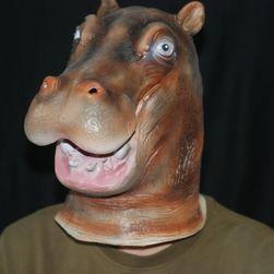 Lateks maska u obliku nilskog konja