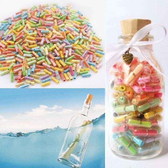 Mini palackok üzenetekre - 100 darab 1