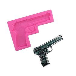 Силиконова форма - огнестрелно оръжие
