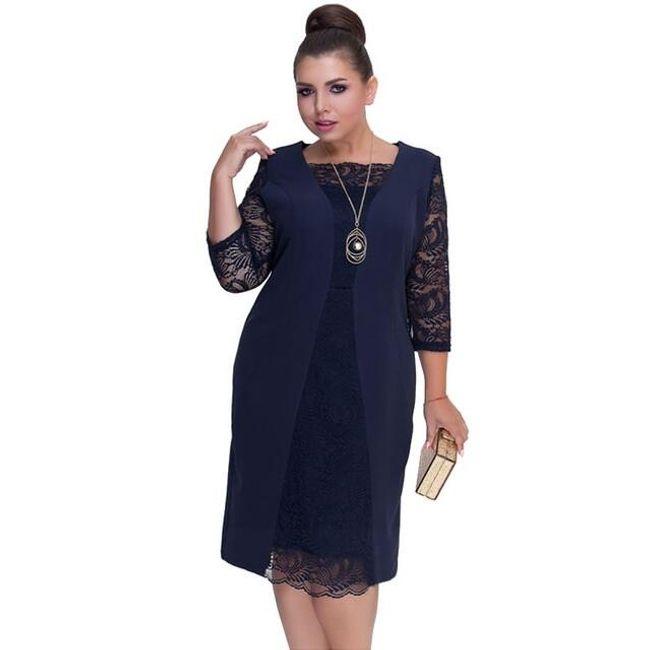 Dámské šaty plus size Suzette 1