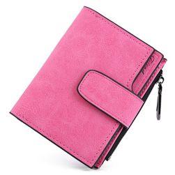 Női pénztárca csattal - 7 szín