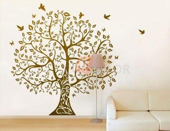 Samolepka na zeď - strom 1