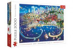 Puzzle Záliv v San Franciscu 2000 dielikov 96,1x68,2 cm v krabici RM_89027107