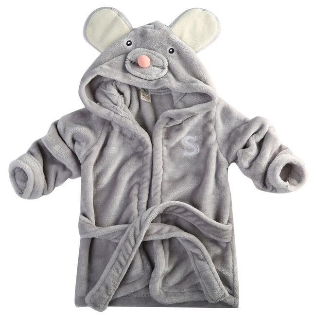 Dětský župan s designu myšáka, pandy nebo králíčka 1