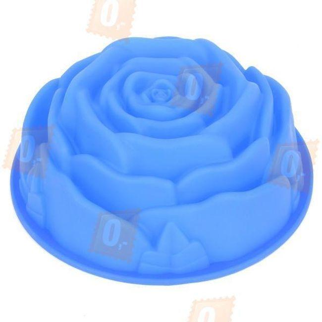 Silikonová forma na dort ve tvaru květu růže 1