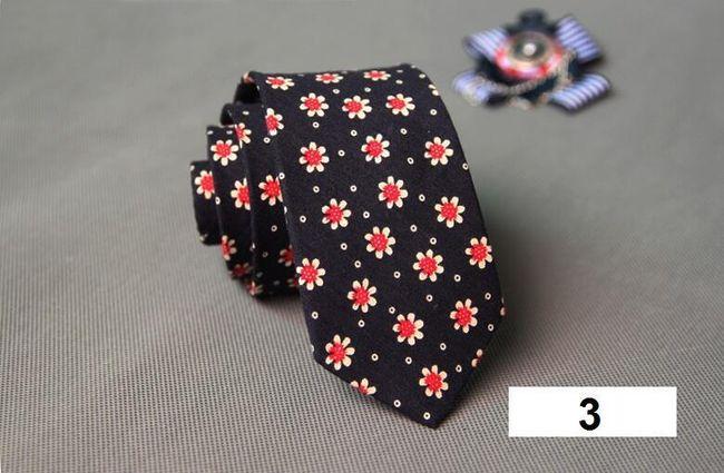 Nyakkendő vidám mintákkal - 20 változat
