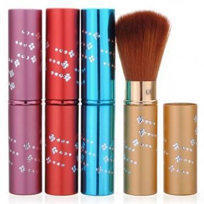 Kosmetický štětec v elegantním ochranném pouzdře - na výběr ze 4 barev 1