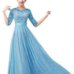Duga svečana haljina od čipke