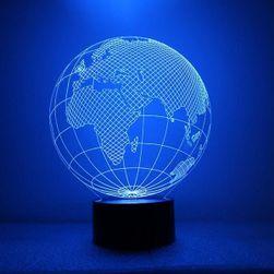 Stolní LED lampička globus - 7 barev