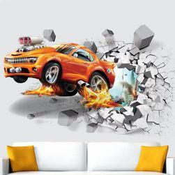 Autocolant 3D pentru perete - 4 variante