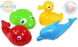 SMĚR Plavací sada zvířátka plastová do vany 4 kusy SR_DS21128187