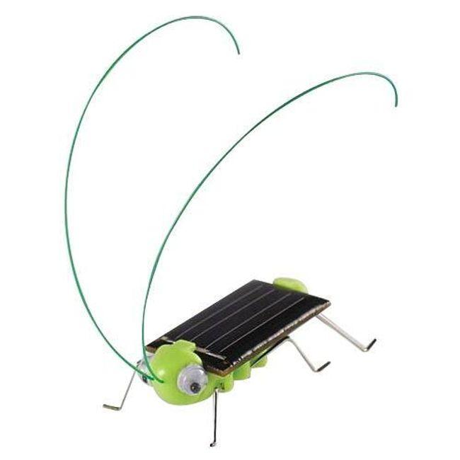 Скакалец движещ се с помощта на слънчева енергия 1