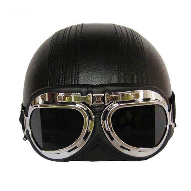 Helma na motorku více barevných provedení + brýle 1