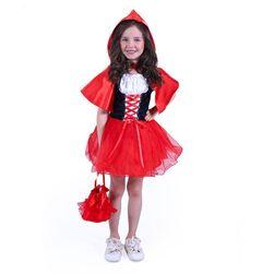 Costum Scufița Roșie cu husă pentru copii (S) RZ_206779