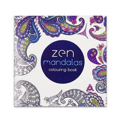 Antistressz kifestőkönyv Zen Mandalas